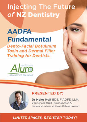 Facial Aesthetics Fundamental Training with Dr. Myles Holt (AADFA)