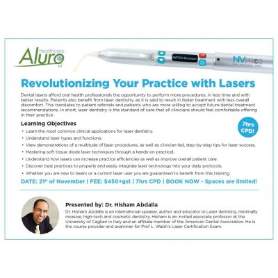 Revolutionizing Your Practice with Lasers
